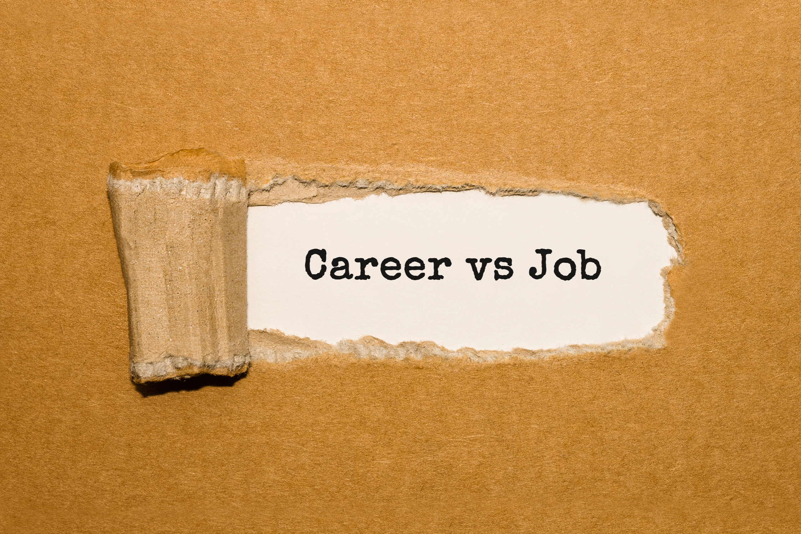 Job vs. Career: What's the Real Difference